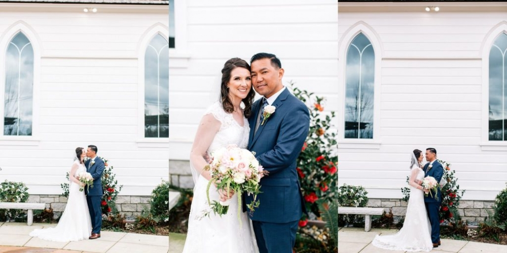Old St Mary's Chapel Sacramento wedding location and Rocklin ceremony venue  95677 | Here Comes The